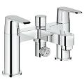"Eurodisc Cosmopolitan Two-handled Bath/Shower mixer ½"" 25141 002"