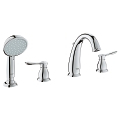 Parkfield Roman Bathtub Faucet with Handshower 25153 001