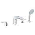 Eurosmart Four-Hole Roman Bathtub Faucet with Handshower 25170 002