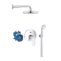 Eurosmart Cosmopolitan Perfect shower set with Tempesta 210 25183 001