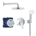 Eurocosmo Perfect shower set with Tempesta 210 25219 001