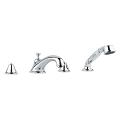 Seabury Four-Hole Roman Bathtub Faucet with Handshower 25502 000