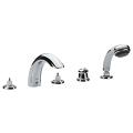 Talia Five-Hole Bathtub Faucet with Handshower 25597 000