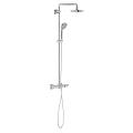 Euphoria System 180 Shower system with bath thermostat for wall mounting 26114 000