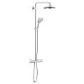 Euphoria Power&Soul System 190 Shower system with thermostat for wall mounting 26186 000