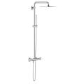 Euphoria System 230 Shower system with thermostat for wall mounting 26187 000