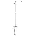 Euphoria System Shower system with thermostat for wall mounting 26241 000