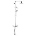 Euphoria System 180 Shower system with thermostat for wall mounting 26273 000