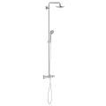 Euphoria System 180 Shower system with bath thermostat for wall mounting 26368 000