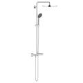 Shower system with thermostatic mixer for wall mounting 26400 000