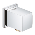 "Euphoria Cube Shower Wall Union, 1/2"" 26634 000"