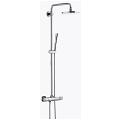 Rainshower System 210 Shower system with thermostat for wall mounting 27032 000