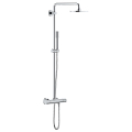 Rainshower System 210 Shower system with thermostat for wall mounting 27032 001