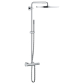 Rainshower System 400 Shower system with thermostat for wall mounting 27174 001