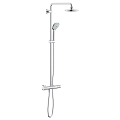 Euphoria System 180 Shower system with thermostat for wall mounting 27296 001