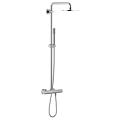 Rainshower System 210 Shower system with thermostat for wall mounting 27418 000