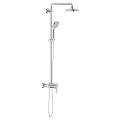 Euphoria System 180 Shower system with single lever mixer for wall mounting 27473 000