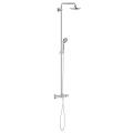 Euphoria System 180 Shower system with bath thermostat for wall mounting 27475 000