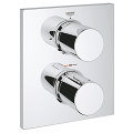 Grohtherm F Thermostatic Trim with integrated 2-way diverter 27618 000