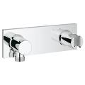 Grohtherm F Wall shower union with integrated shower holder 27621 000