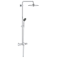 Vitalio Joy System 180 Shower system with bath thermostat for wall mounting 27860 001