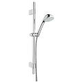 Relexa 100 Champagne Shower rail set 4 sprays 28944 000