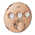 Grohtherm SmartControl Thermostat for concealed installation with 3 valves 29121 DA0