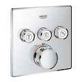 Grohtherm SmartControl Safety mixer for concealed installation with 3 valves 29126 000