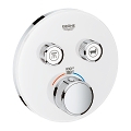 Grohtherm SmartControl Dual Function Thermostatic Trim with Control Module 29160 LS0
