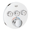 Grohtherm SmartControl Thermostat for concealed installation with 3 valves 29904 LS0