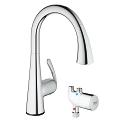 Ladylux3 Café Touch Pull-Down Kitchen Faucet with Touch Technology 30226 000