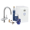 GROHE Blue® Chilled & Sparkling Kit de démarrage 31323 001