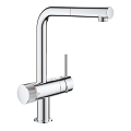 GROHE Blue Pure Minta Single-lever sink mixer with filter function 31721 000