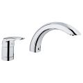 Eurodisc 2-hole single-lever bath combination 32337 001