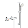 "Grohtherm 1000 Thermostatic shower mixer 1/2"" with shower set 34151 004"