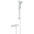 "Grohtherm 2000 Thermostatic shower mixer 1/2"" with shower set 34195 001"