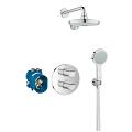 Grohtherm 2000 Perfect shower set with Power&Soul Cosmopolitan 190 34283 001