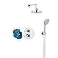 Grohtherm 3000 Cosmopolitan Perfect shower set with Rainshower Cosmopolitan 160 34399 000