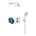 Grohtherm 3000 Cosmopolitan Perfect shower set with Rainshower 210 34408 000
