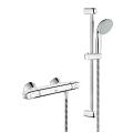 "Grohtherm 1000 Thermostatic shower mixer 1/2"" with shower set 34557 000"