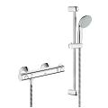 "Grohtherm 800 Thermostatic shower mixer 1/2"" with shower set 34565 000"