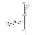 "Grohtherm 800 Thermostatic shower mixer 1/2"" with shower set 34565 001"