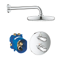 Grohtherm 1000 Perfect shower set with Tempesta 210 34582 001