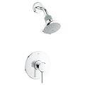 Concetto Pressure Balance Valve Shower Combination 35010 001