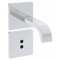 "Allure E Infra-red electronic basin tap 1/2"" wall mounted 36235 000"