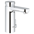 Eurosmart Cosmopolitan T Self-closing basin mixer with mixing device  and adjustable temperature limiter 36317 000