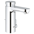 Eurosmart Cosmopolitan T Self-closing basin mixer with mixing device  and adjustable temperature limiter 36318 000