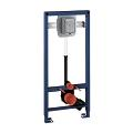Rapid SL Element for WC with flush valve, 1.13 m installation height 38519 001