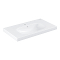 Euro Ceramic Plan vasque 80 cm 39584 00H
