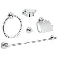 Essentials Master bathroom accessories set 5-in-1 40344 001